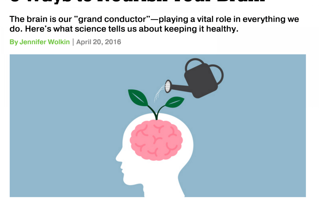 Repost: 5 Ways to Nourish Your Brain