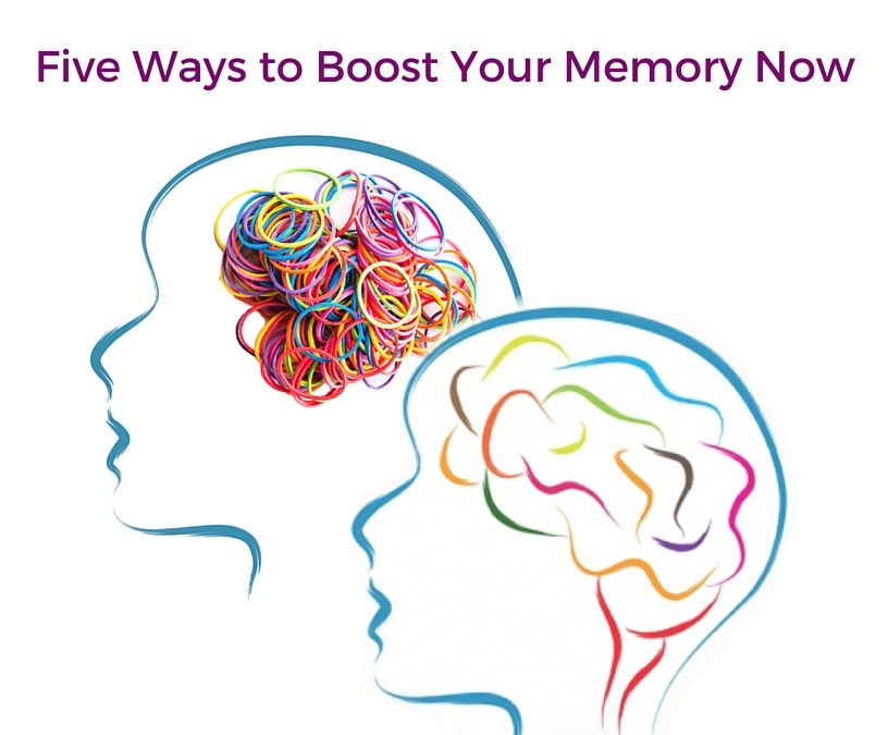 Five Ways to Boost Your Memory