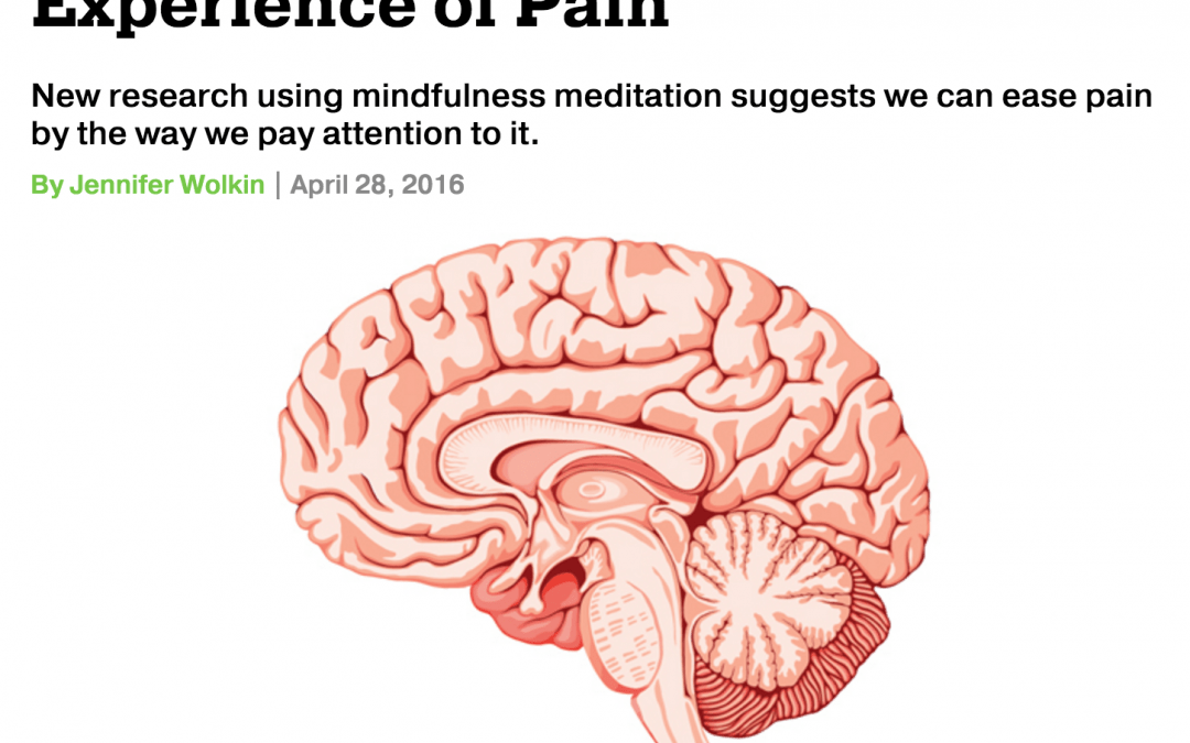 Repost: How the Brain Can Change Your Experience of Pain
