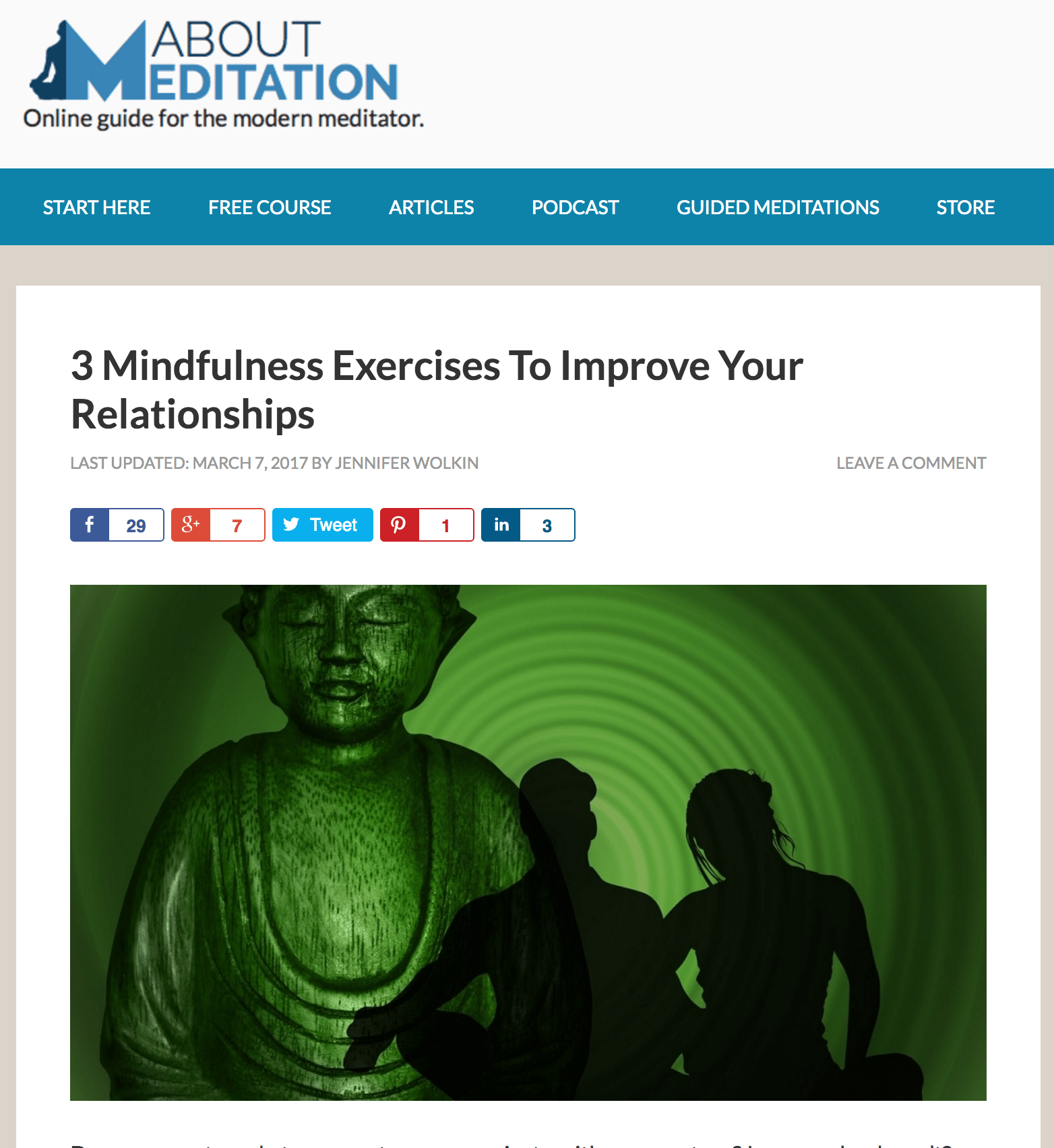 Repost: 3 Ways Mindfulness Can Improve Your Relationships