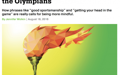 Repost: 4 Lessons in Mindfulness from the Olympians